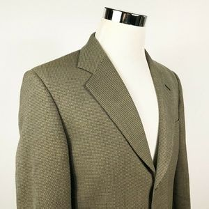 Example x Missoni Mens 40R Sport Coat Gold Wool